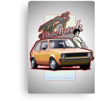 VW Mk - Comeback 70s Canvas Print