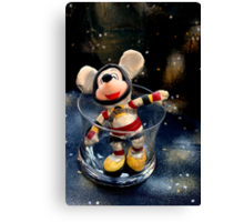 Lost In Space Mickey - Found Again Canvas Print