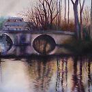 Eymet Bridge by Fee Dickson