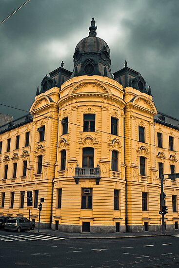 a hallowed building in Zagreb by pmacimagery