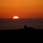 Tintagel Sunset by markfalmouth