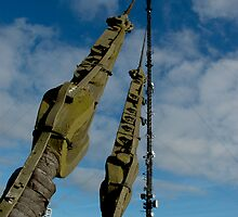 Caen Brea TV Mast by markfalmouth