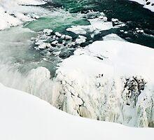 Iced Gullfoss #3 by Stefán Kristinsson
