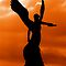 SUNSET ANGEL OF GREECE by Scott  d'Almeida
