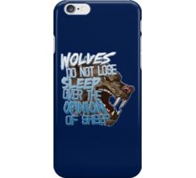 Wolves Opinion iPhone Case/Skin