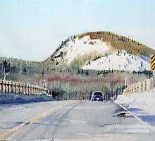 Bridge at Hays Lake by Douglas Hunt