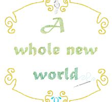 A Whole New World Needlepoint by WDWCEC23