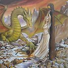 Dragon and Captive by dashinvaine