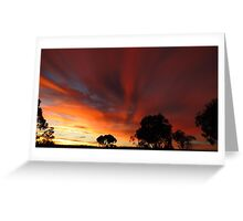 April Fools Day sunrise in Quorn Greeting Card