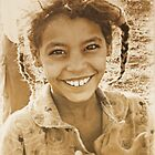 Young Egyptian Girl, Aswan Egypt 2007 by Tash  Menon