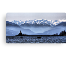 Olympic View Canvas Print
