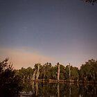 Moonlit Ovens River  by Natalie Ord