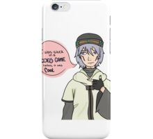 Tsukasa .Hack//sign Got stuck in Video games before it was cool iPhone Case/Skin