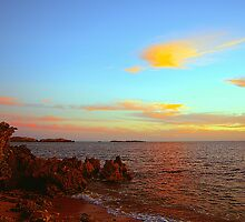 Sundown At Point Peron by Algo21
