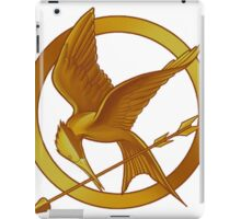 hunger game logo iPad Case/Skin
