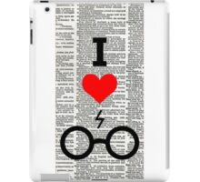 I love Harry Potter iPad Case/Skin