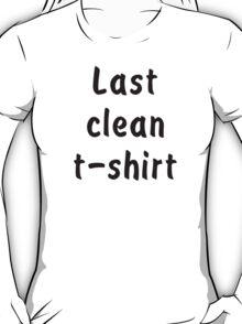 Last Clean T-shirt – Cara Delevingne T-Shirt