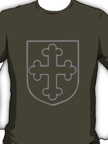 A Complete Guide to Heraldry - Figure 166 — Cross botonny T-Shirt
