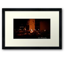 HOLLOWEEN Framed Print