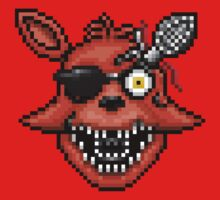 Five Nights at Freddy's 2 - Pixel art - Foxy Kids Clothes