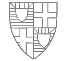 A Complete Guide to Heraldry - Figure 209 — The arms of Roger Mortimer, Earl of March and Ulster (d 1398) Photographic Print