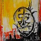red yellow window by Sam Hanchett