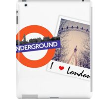 There's no place like London! iPad Case/Skin