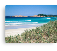 Surf check on the South coast Canvas Print