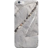 Pebbles in rock iPhone Case/Skin