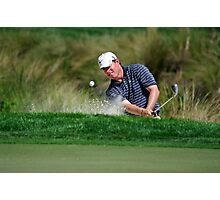 Justin Leonard - Hits Out of a Bunker Photographic Print