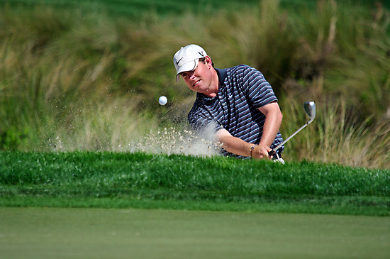 Justin Leonard - Hits Out of a Bunker by Stephen Beattie