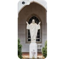 Statue of Jesus iPhone Case/Skin