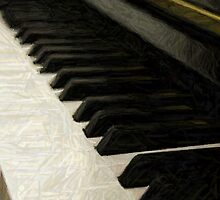 Old Piano by dotweb