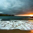 Sunrise Over Sea. by Andrew Bosman