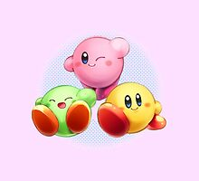 Kirby Colors by PollaDorada