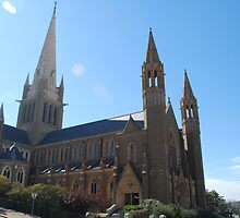 The Cathedral, Sacred Heart Cathedral, Bendigo  by Lozzar Flowers & Art