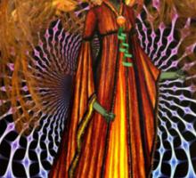 Alien Queen On A Peace Mission Sticker