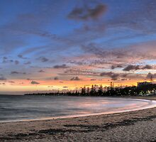 Colourful Sunset at Redcliffe by Aaron Murgatroyd