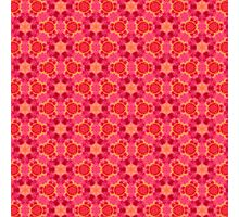 Pink Pattern Photographic Print