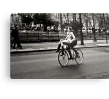 Etta & Butch Go for a Ride Metal Print