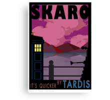 SKARO QUICKER BY TARDIS Canvas Print