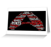 Stormer Salute (White/Red) Greeting Card