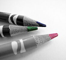 Colored Pencils II by MichelleR