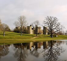 Bodiam Castle Reflections by SAngell