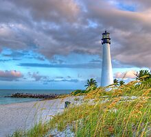 Key Biscayne at the End of the Day by asawaa