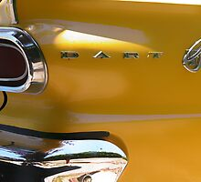 Yellow Dodge Dart by olivia destandau