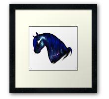 Galaxy Horse Framed Print