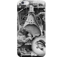 Resting Elephant with Fish on a Desserted Welsh Landscape. iPhone Case/Skin