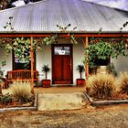 Open for business - Halls Gap Vineyard by Jennifer Craker