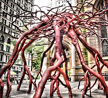 Trinity Root Sculpture by Rita Peterson
